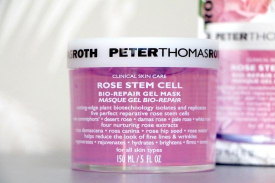 Rose Stem-Cell Bio Repair Gel Mask