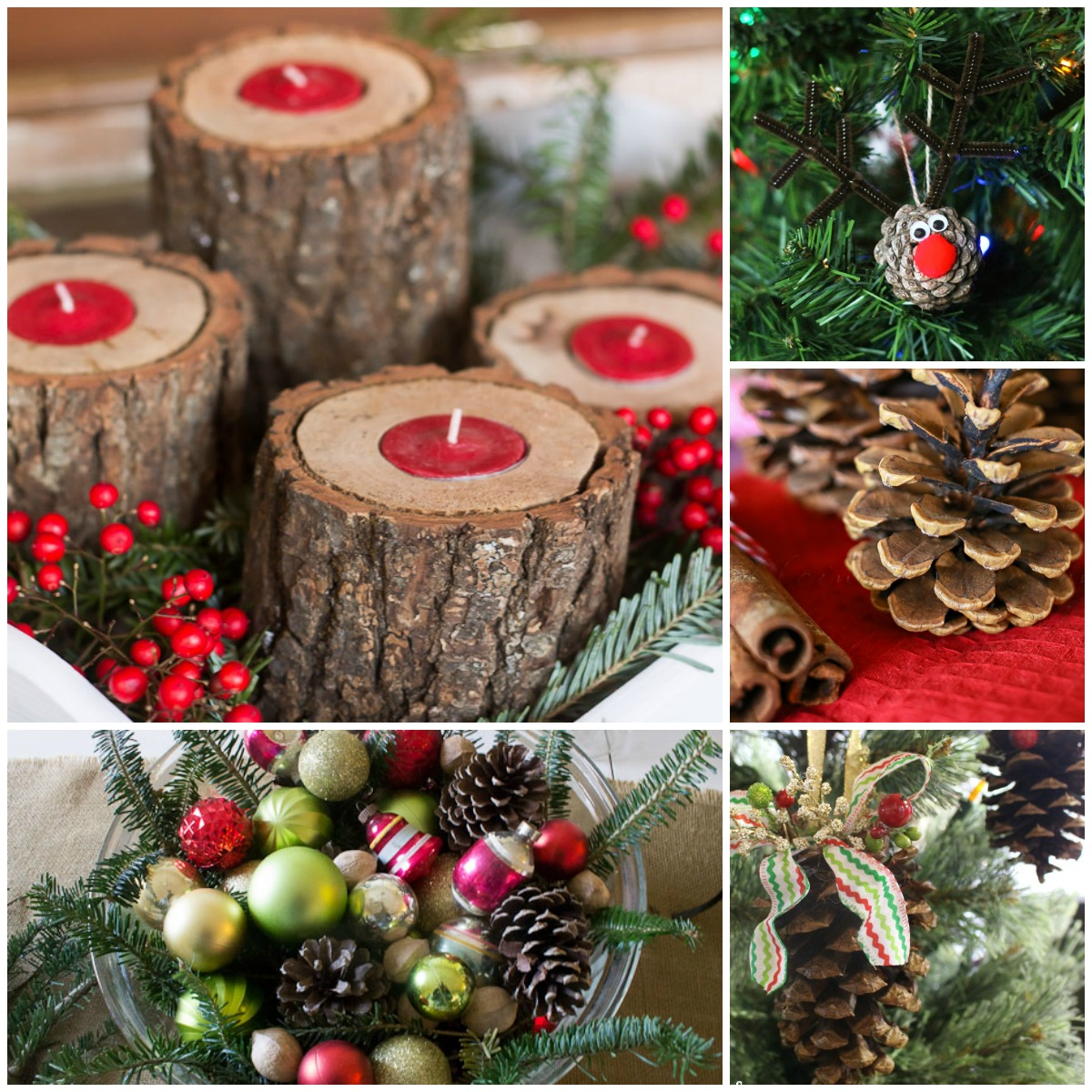 Christmas Decorations Holiday Decorations Decor: 9 DIY Home-Made Christmas Ornaments To Decorate Your Tree